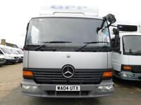 Mercedes-Benz Atego 815 MWBase Barn Doors, Ideal Horsebox