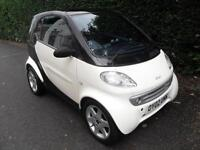 Smart Car Smart 0.6 Semi-Automatic 2002, Pulse, Black, FSH,
