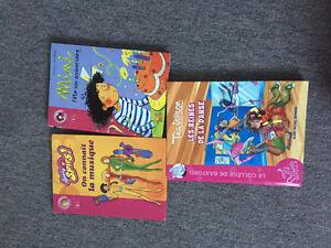 3 livres pour jeunes filles