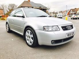 AUDI A3 S3 QUATTRO 1.8 TURBO 3 DOOR HATCHBACK BARGAIN GTI ST K1 TYPE R VXR