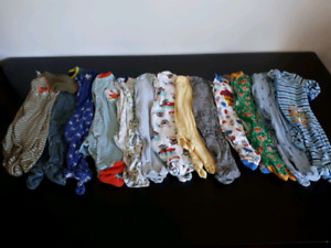 18 pc 3/6 month boy sleeper lot