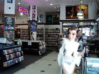 Customer Service at a video store
