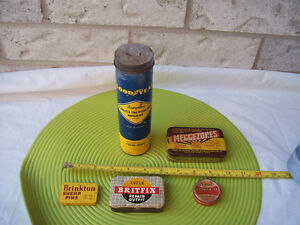 Antique Tins,  Goodyear Repair Kit  + More ** SEE EACH PRICE