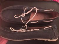 Clarks Boat Shoes Navy Size 10