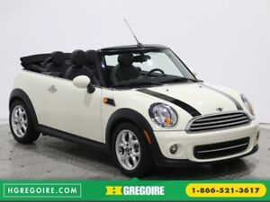2013 Mini Cooper AUTO A/C CUIR CONVERTIBLE MAGS BLUETOOTH