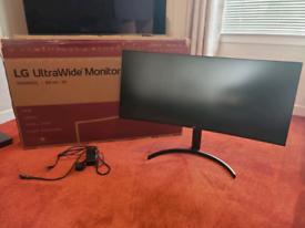 LG Ultrawide 3440x1440 100hz monitor