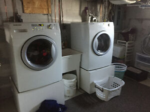 Washer electric dryer