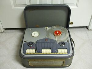 Philips EL3542A Tube Reel to Reel Vintage