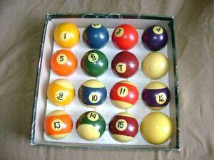 Billiard / Snooker Pool Balls & Pool Cues  -------------