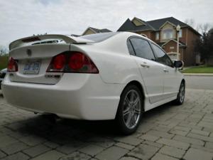 WTB rear bumper for Acura CSX