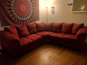 2.5 year old sectional