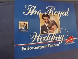 PRINCESS DIANA & PRINCE CHARLES/6 ROYAL WEDDING COLLECTORS ITEMS