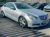 Mercedes Benz e250 CDI Coupe 2010 silver manual. Very good runner cheap lux car.