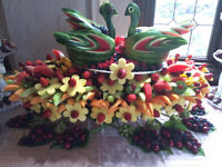 Fresh Fruit Designs and Displays