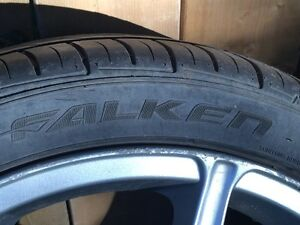 17 inch 5x113 rims one has MAJOR curb damage  Cambridge Kitchener Area image 6