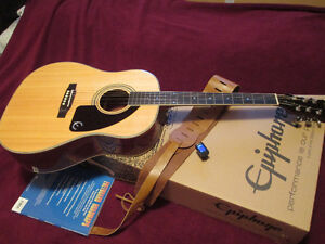 Epiphone AJ-220S Acoustic / Electric Guitar