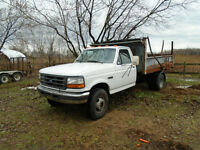 1997 Ford F-450 Camionnette echange tente roulotte