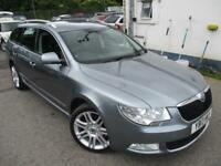 2013 SKODA SUPERB ELEGANCE TDI CR ESTATE 4X4 FULL LEATHER 4X4 DIESEL