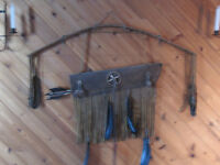 Native Bow and Arrows made in Montanna