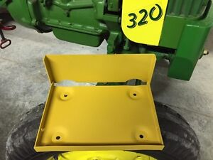 John Deere 40-320-420 tractor battery box