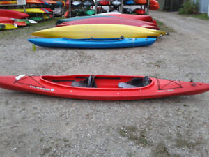 Used Wilderness Systems Pamlico 145T tandem kayak
