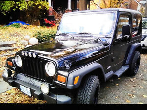 1997 Jeep TJ LX Convertible