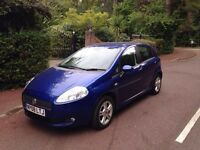 Fiat Punto 1.4 Dynamic Sport 5dr 2008. ONLY DONE 70K. YEARS MOT. LOOKS AND DRIVES THE BEST