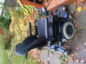 Great motorized wheelchair! Must Go!! Will take less than 2000$$