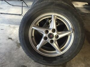 225/60R16 on Pontiac rims