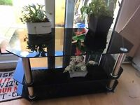 tv stand up to 52 inches tv used 3 months only
