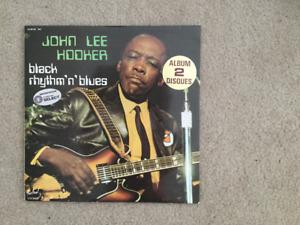 John Lee Hooker balck rythm 'n' blues 33 1/3 RPM vinyl LP