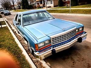 1984 crown vic under 80,000 miles!