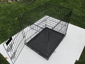 Cage pour chien.