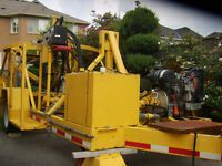 MANHOLE CORING MACHINE - ONLY 23 HOURS