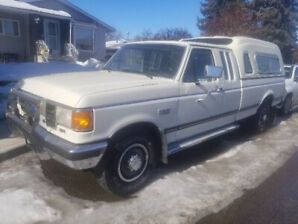 1991 Ford F250 XLT. Only 71000 km