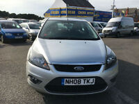 2008 FORD FOCUS ZETEC TD 115 SILVER
