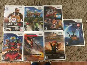 Wii Games, very good condition 5.00 each