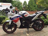 Cbr 125r and cbr250r both very clean. Low milage bikes finance available etc