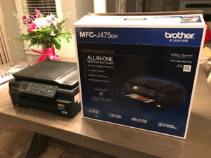 Brother MFC-J475DW Printer- Compact Wireless Inkjet All-in-One