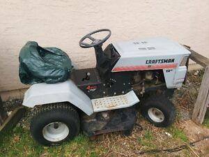 12 hp craftsman ride on lawn mower