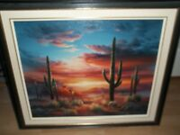 SOUTHWESTERN OIL PAINTING