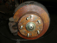 JDM HONDA PRELUDE REAR DISCS, RIGHT AND LIFT