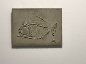 Hand made cement picture