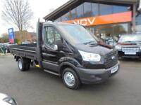 2014 FORD TRANSIT 350 NEW SHAPE TRANSIT DROPSIDE NO VAT