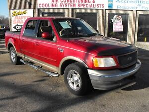 2003 F150 SUPERCREW LARIAT  LEATHER-SUNROOF  SAFETIED  SALE