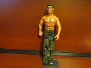 2 G I joe soldiers from Hasbro and Lanard