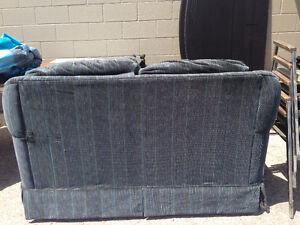 Royal Blue Couch/Love Seat Kitchener / Waterloo Kitchener Area image 4