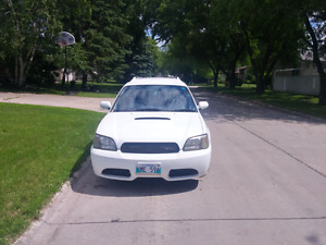 2001 subaru legacy wagon. Twin turbo blitzen edition