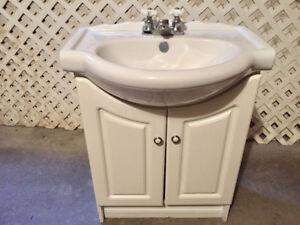 Bathroom Vanity, Sink and Faucet