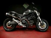 DUCATI M696 + MONSTER. 2014. FSH. 9K. RGS ALL OVER. TERMI EXHAUSTS. ABS